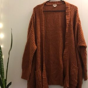 Women's XL Mossimo Supply Co. Chunky Knit Cardigan